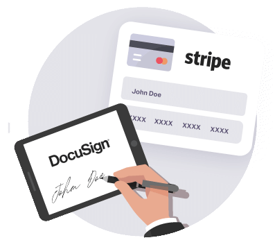 https://cdn.offr.ioTake the first and second-month rent via Stripe and set up a standing order for monthly amounts.