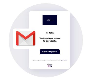 Le notifiche via e-mail vengono inviate alle parti interessate per ricordare loro le prossime date e gli orari per tutte le vendite