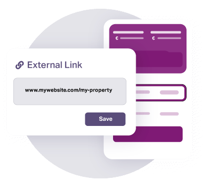 https://cdn.offr.ioAdding a URL to the external tab will connect Offr with the property listing on the agent's website.