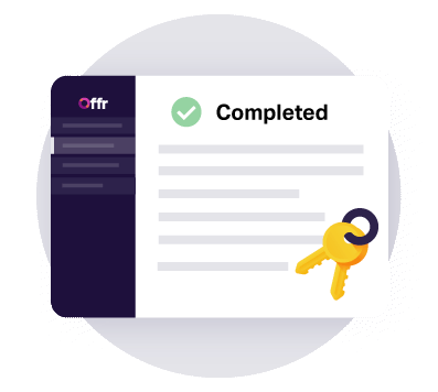 https://cdn.offr.ioKeys are exchanged after the contract was signed and completed by the vendor, purchaser and solicitors.