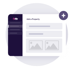 simply set up a property in your offr account by inputting the general information about the property