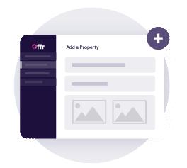 imposta semplicemente una proprietà nel tuo account offr inserendo le informazioni generali della proprietà