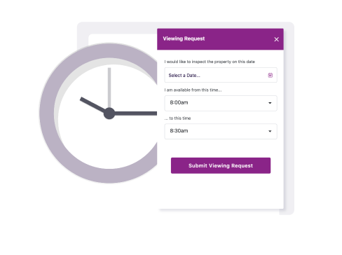 digitise your property viewing booking system to allow buyers to book or request a viewing at any time